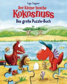 Der kleine Drache Kokosnuss Das grosse Puzzle-Buch von Ingo Siegner